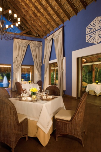 Enjoy traditional Spanish and Dominican cuisine in a locally inspired setting at Amaya Restaurant.