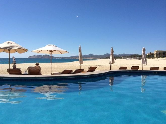 A beautiful view of Zoetry Casa del Mar from guest Beth S.