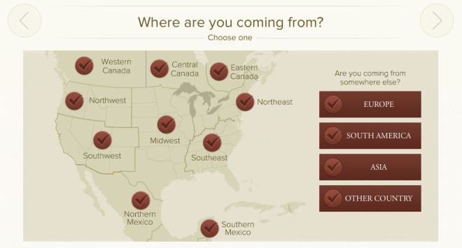 The first step in finding your perfect Zoëtry Wellness & Spa Resorts location is easiest of all!