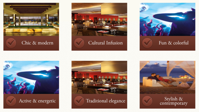 Everyone seeks a different experience from their Zoëtry Wellness & Spa Resorts getaway, so it's important to choose an ambiance that most fits your personality.