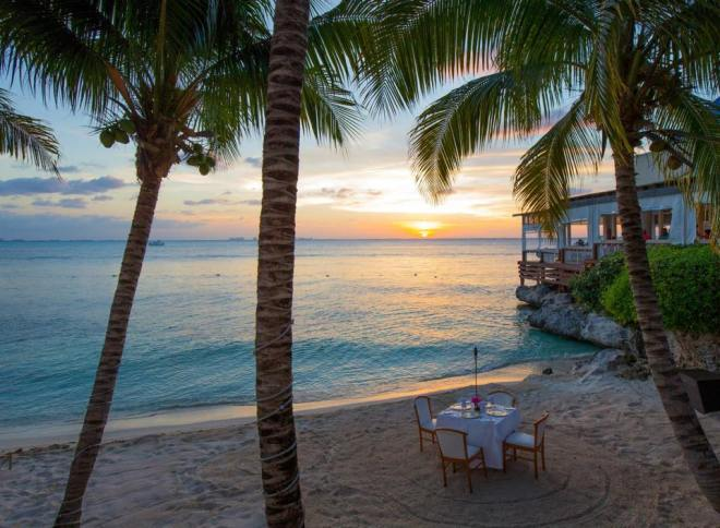 Immerse yourself in the indulgent and exclusive delights of a private dinner on the beach at Zoëtry Villa Rolandi Isla Mujeres. Fan Photo Credit: Laura W.