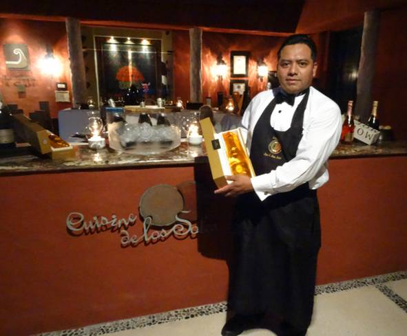 Our sommelier is waiting to share the finest wines and champagnes with you at Zoëtry Paraiso de la Bonita Riviera Maya!