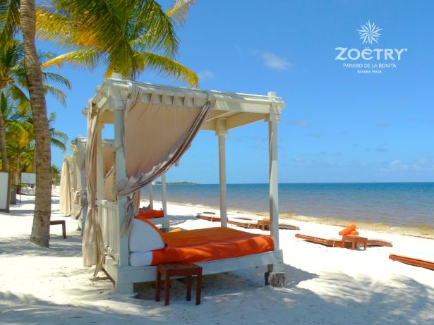 Zoetry Paraiso beach