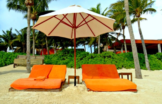 Beach - loungers - set - Double
